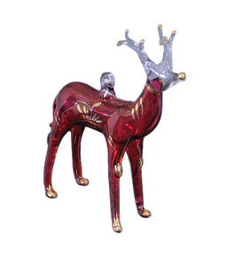 Glass Animal Ornaments