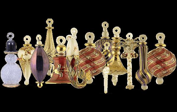 Glass Christmas Ornaments 2020